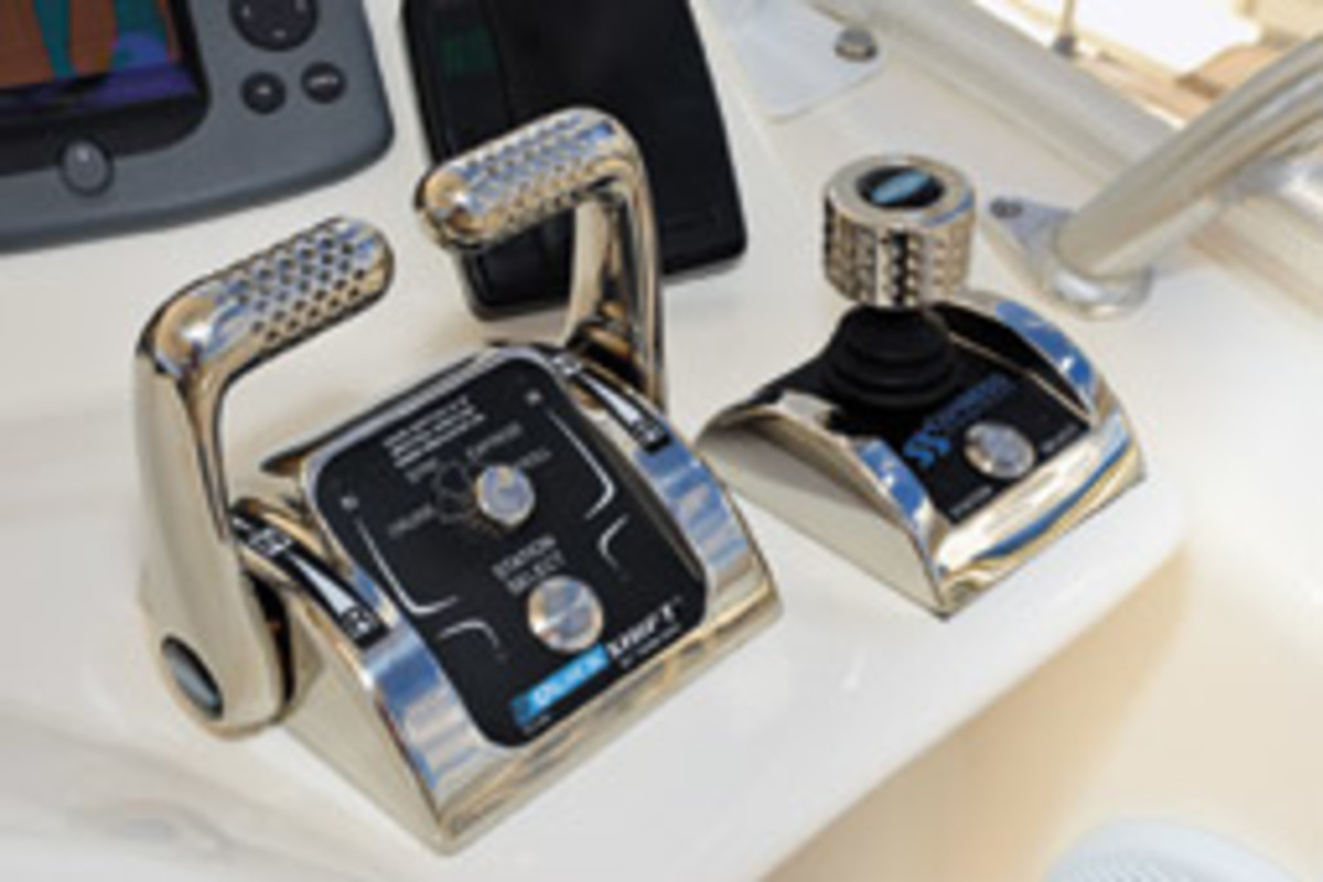 Twin Disc's Express Joystick System is for use on boats with conventional shafted inboards.