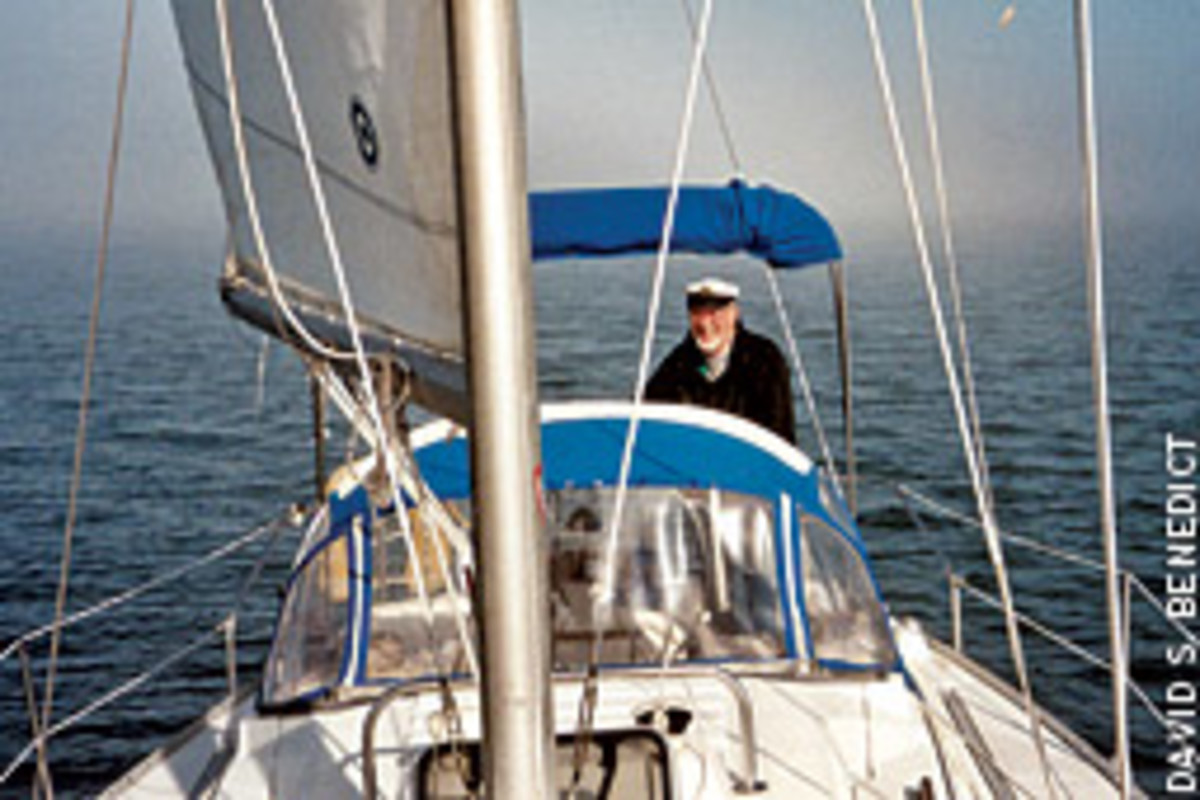 David Benedict couldn't have asked for three better days on his cruise to the Eastern Shore aboard Caper II, his 31-foot 1985 Hunter sloop.