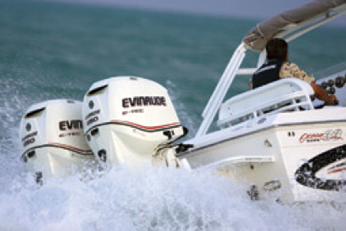 BRP is offering a five-year warranty and low-interest financing on E-TEC outboards.