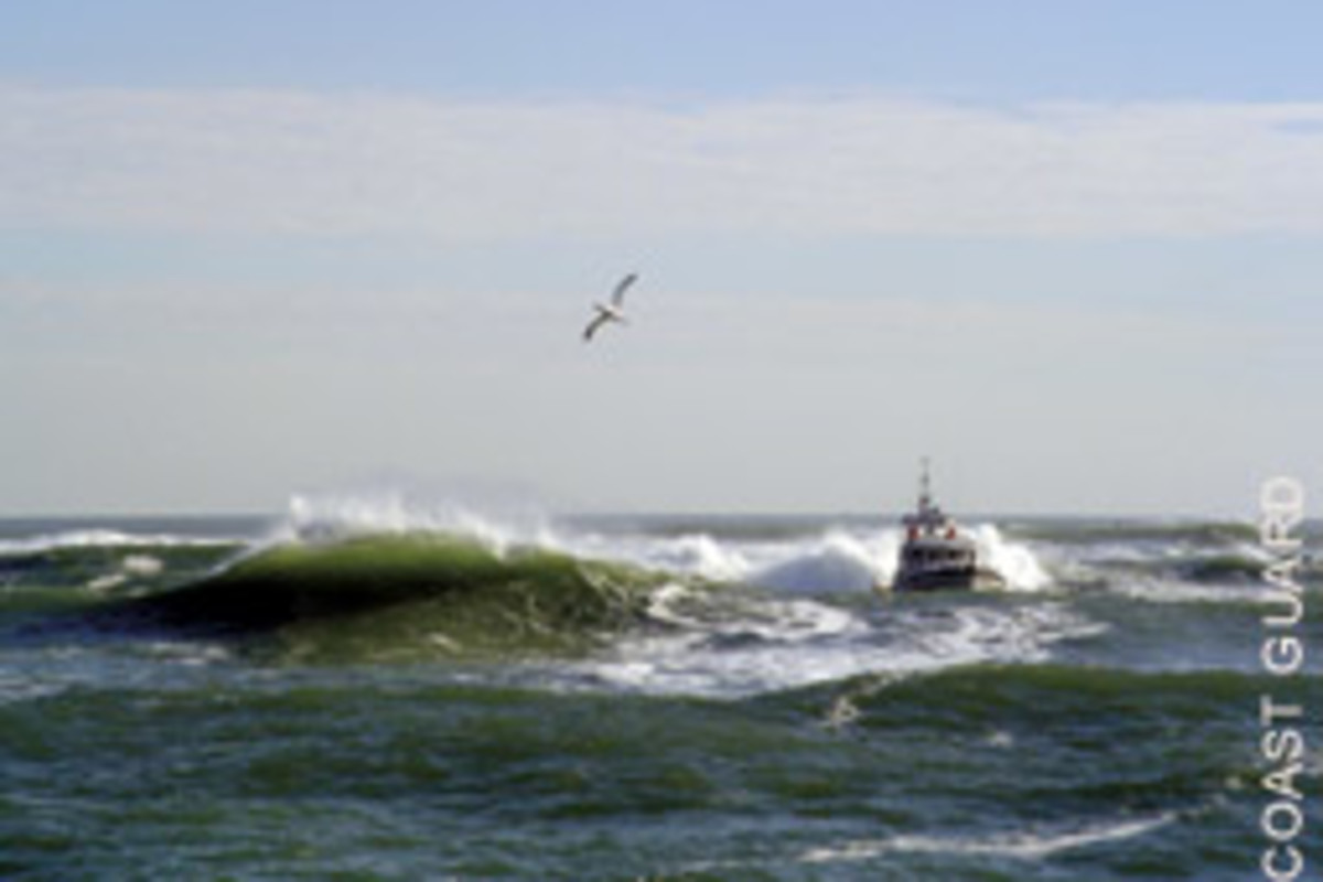 Inlets provide prime training grounds for Coast Guard crews.