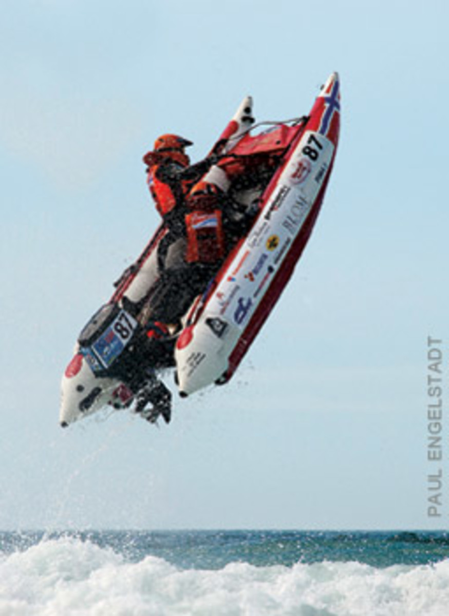 Paul Engelstadt nabbed a bronze for this beauty of an airborne RIB.