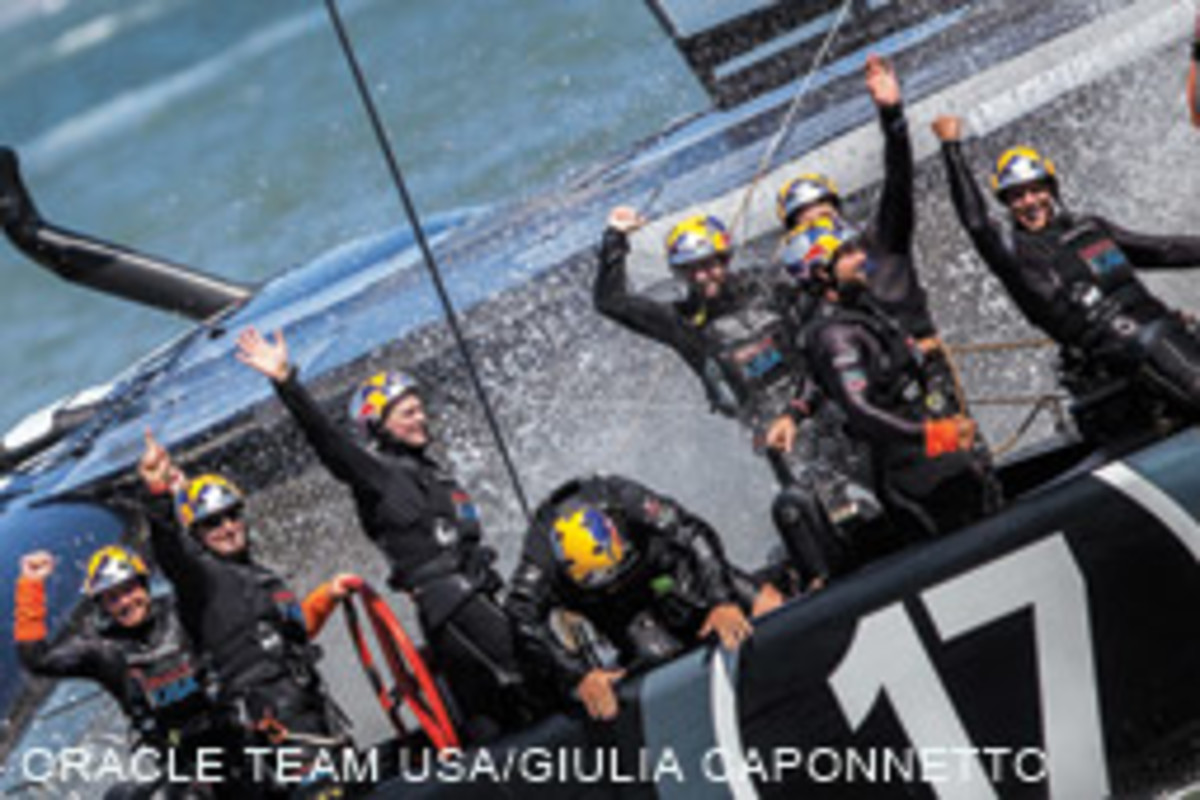 Oracle Team USA held on to the Cup with a multinational crew.