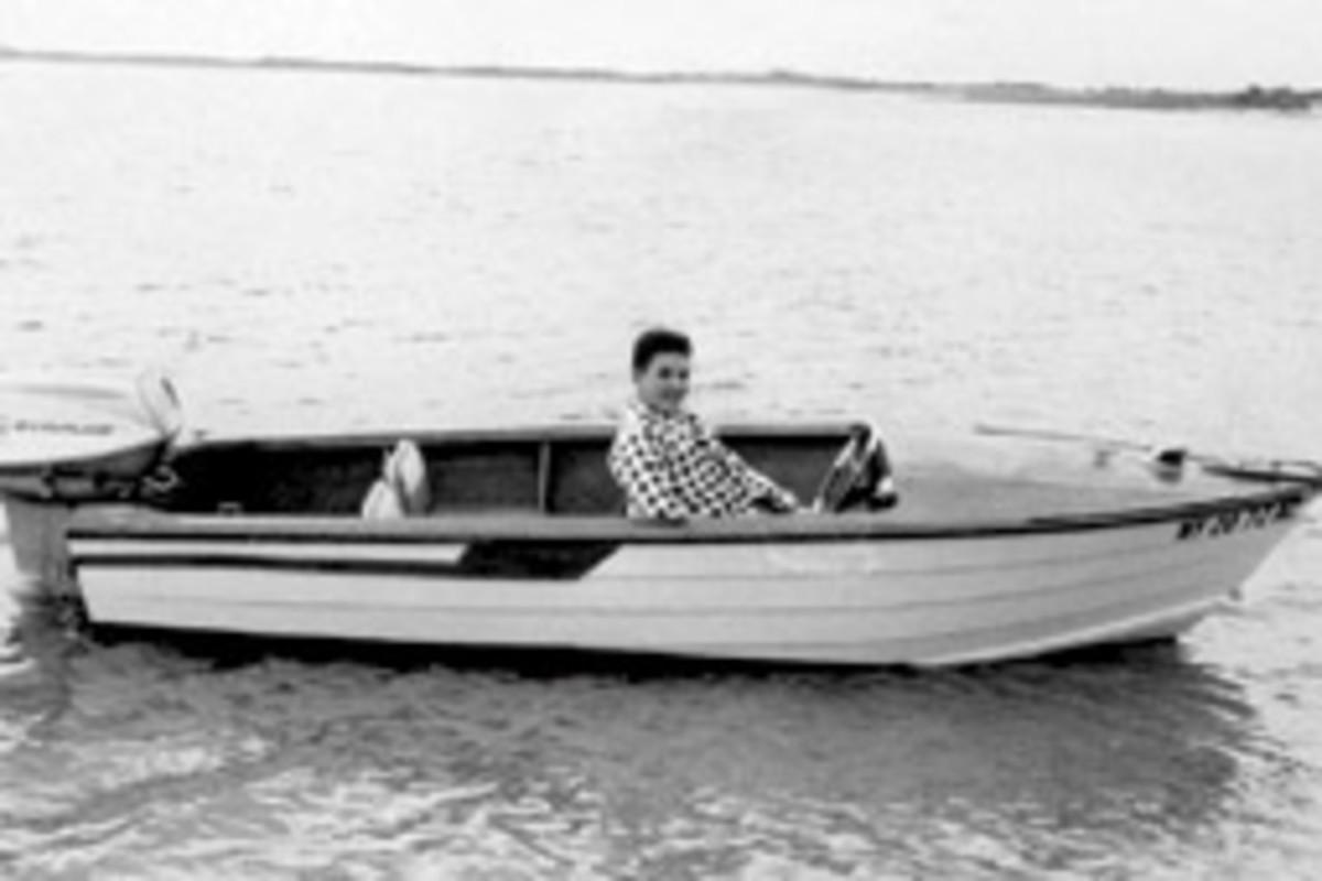 Mike O'Shea in 1961