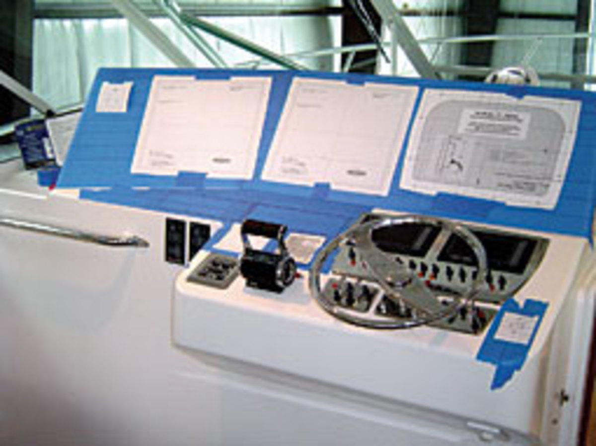 When measuring for new electronics, make full-size templates and pay attention to the best position for each display.