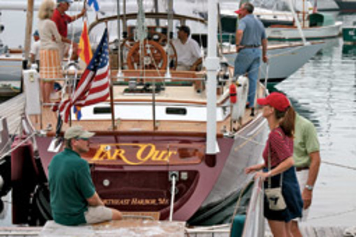 Morris Yachts will open their service yard July 17-19 for the company's fifth annual show.