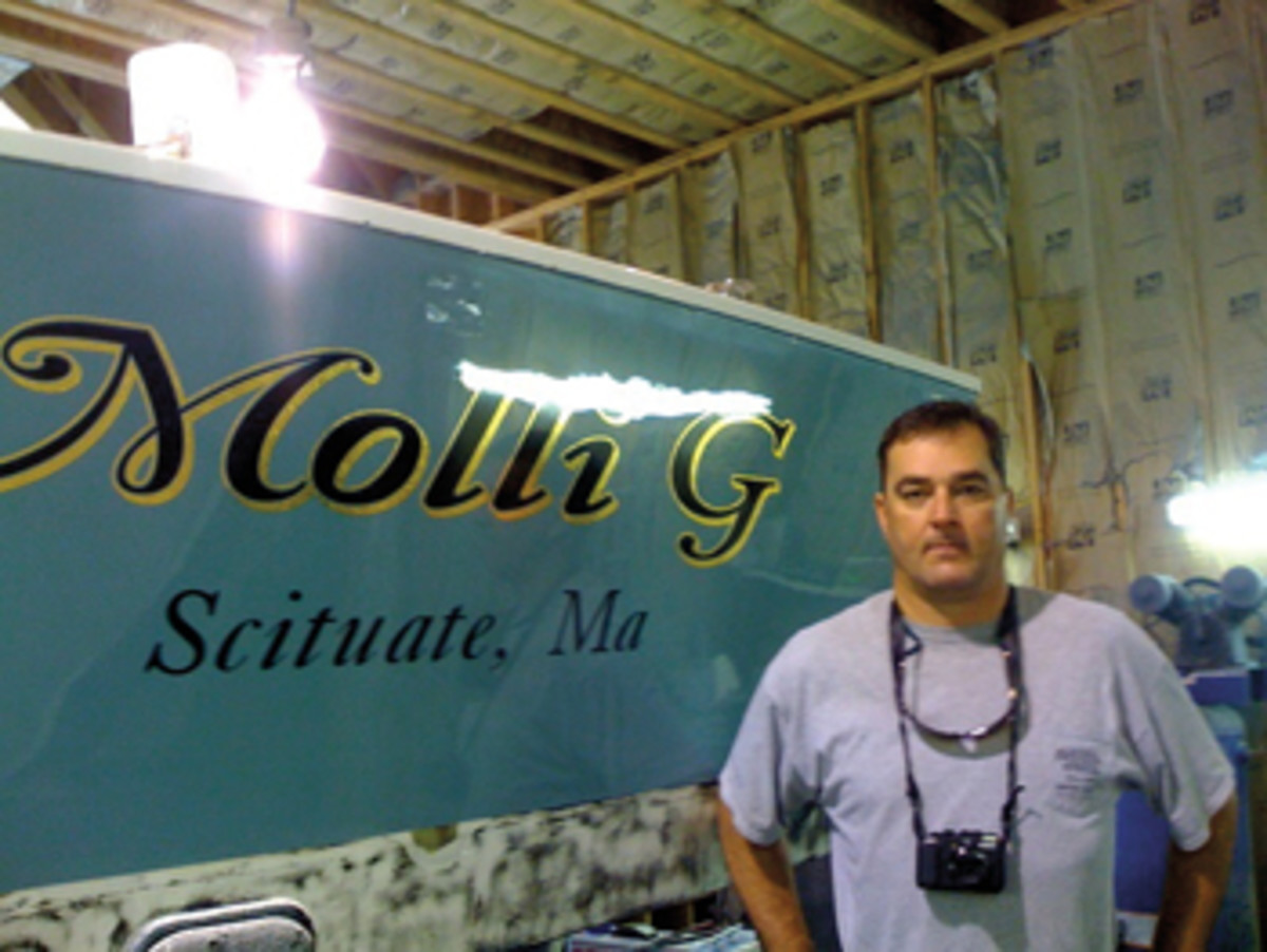 Dave Browne had been out of boating for a while when he found Molli G.