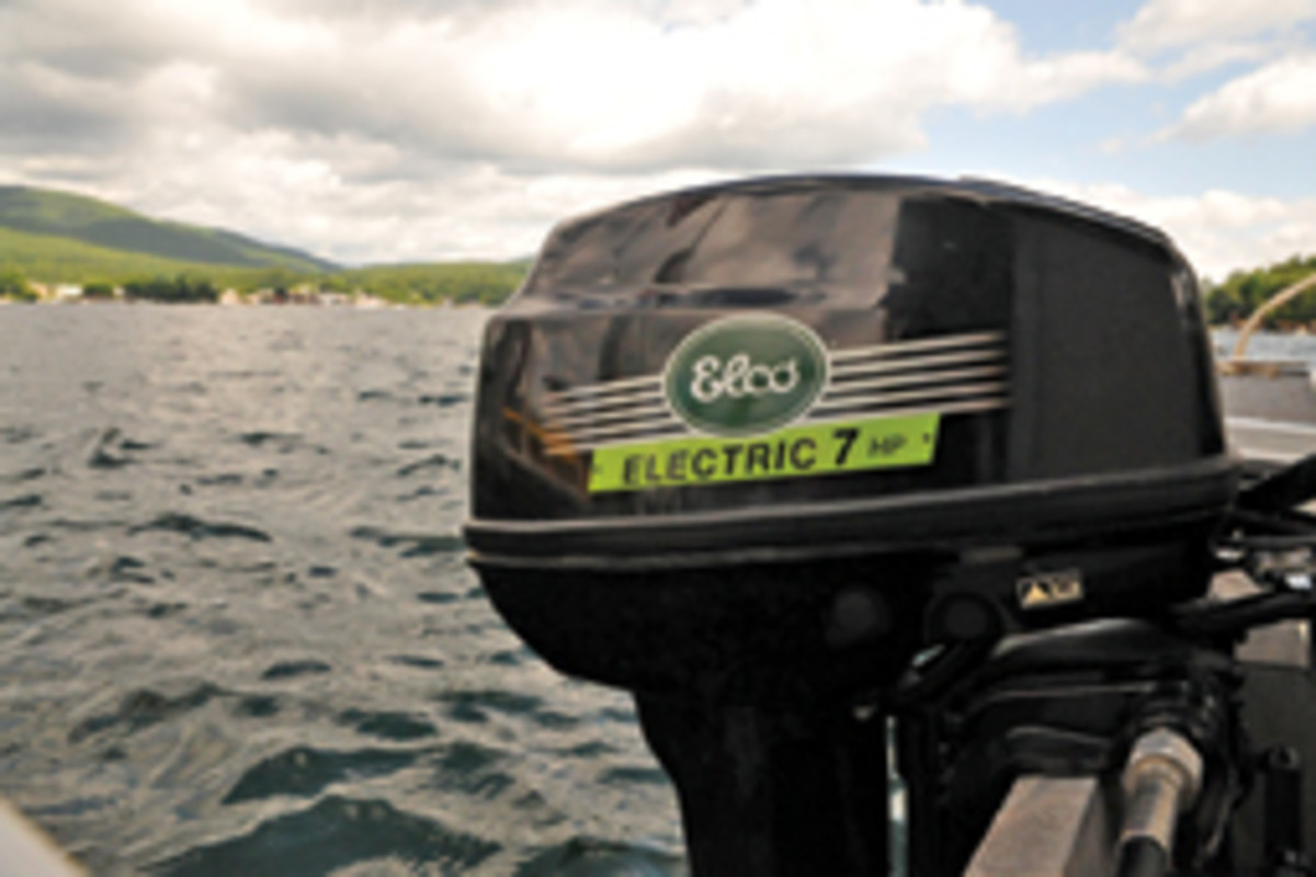 Elco introduced 5-and 7-hp equivalent electric outboards this year, and a 9.9-hp and a 25-hp model are due out in 2015.