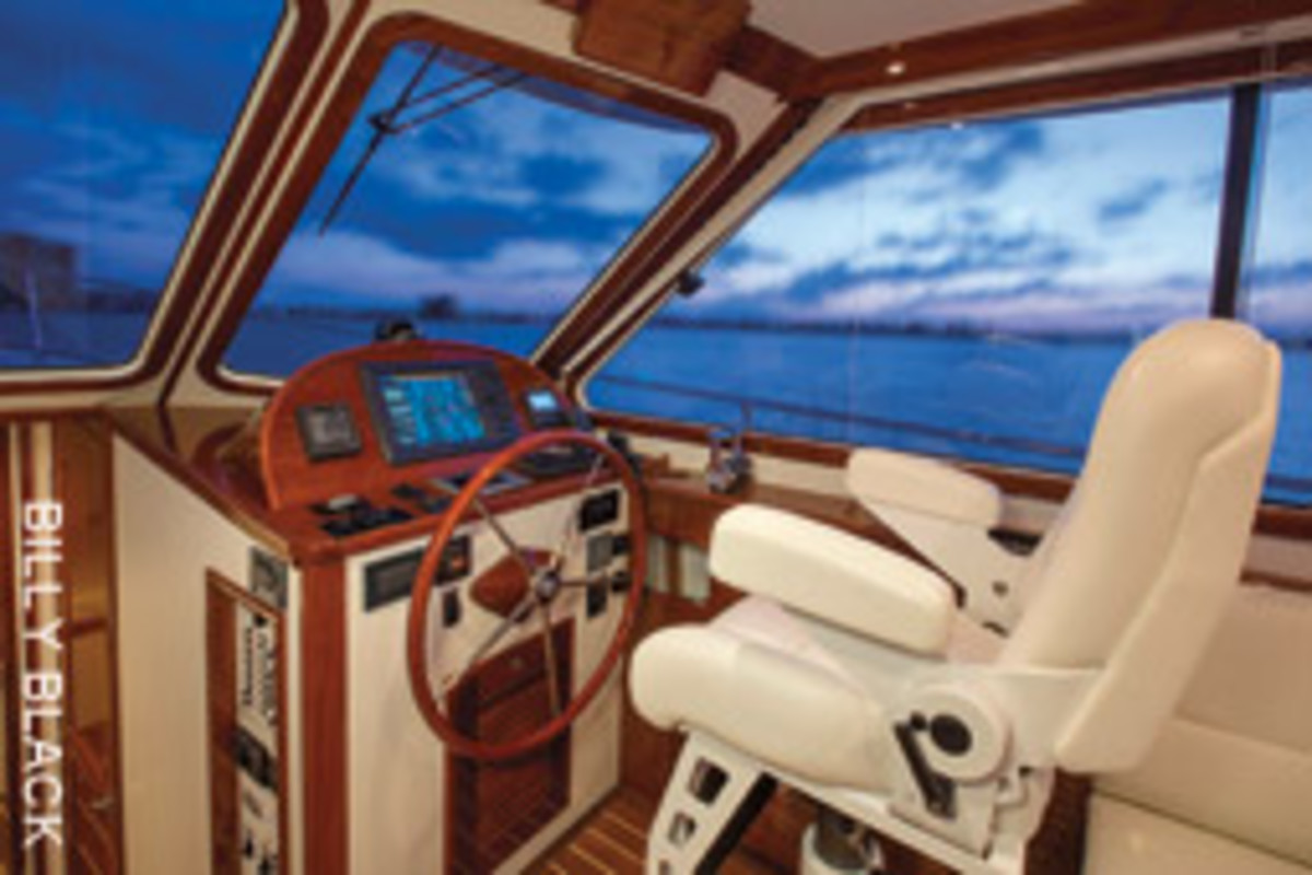 The sightlines on the Bruckmann Abaco 40 are unbeatable.
