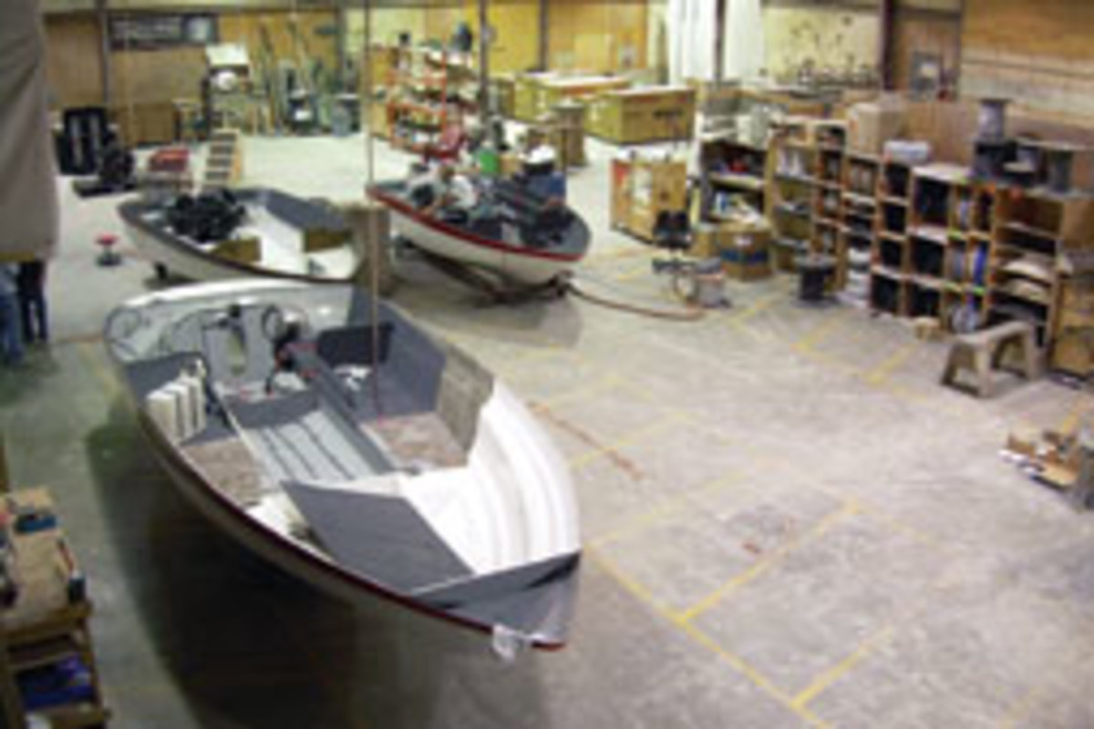 After extensive testing, Campion Marine now builds all of its boats using Ashland's Envirez polyester resin.
