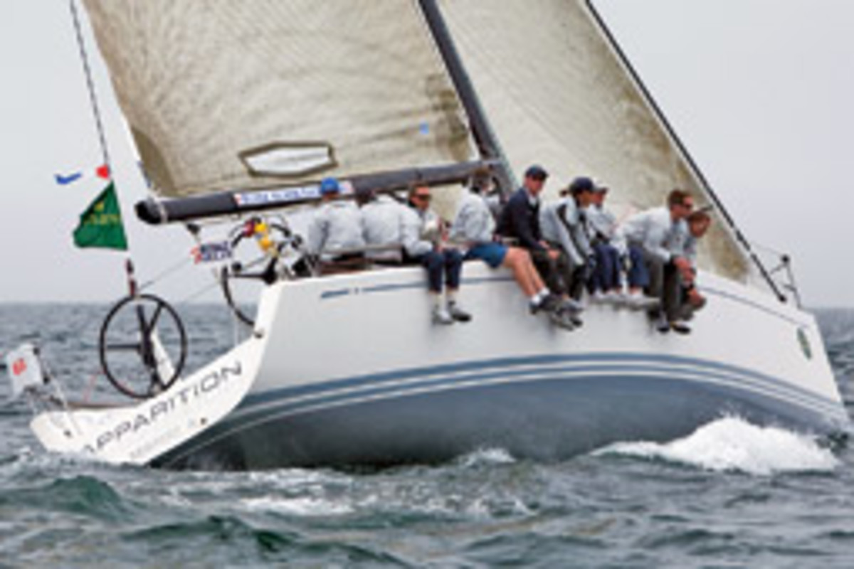 Ken Colburn of Dover, Mass., was winner of the Swan 42 class at Block Island Race Week presented by Rolex.
