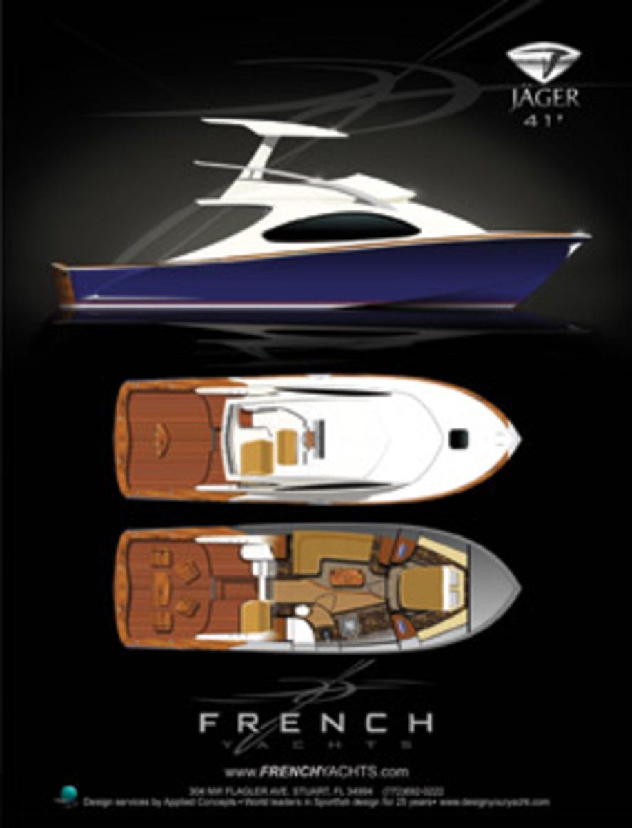 French is launching a new company with a plan to build his own brand of boats.