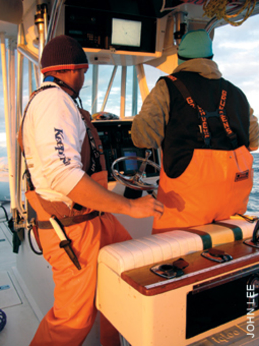 Savvy anglers use their electronics to set up a proper drift.