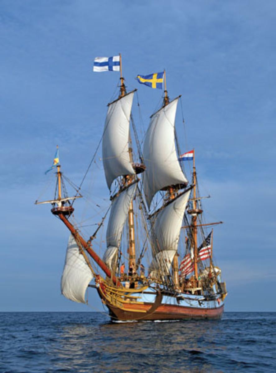 The Kalmar Nyckel Celebrates Seamanship 17th Century