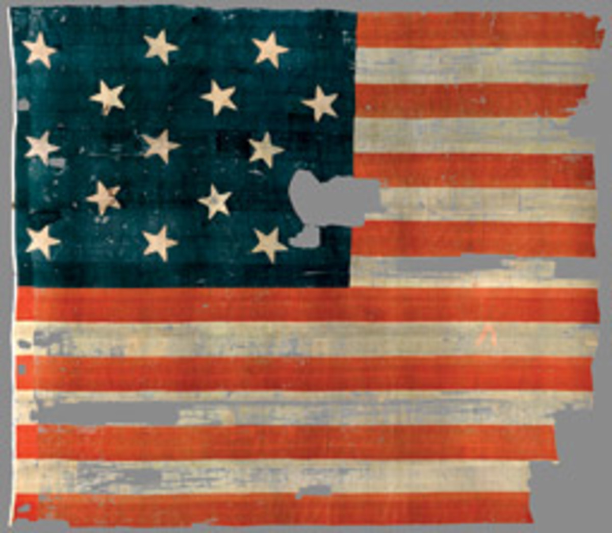 The original Star-Spangled Banner is again on display at the Smithsonian Institution in Washington, D.C.