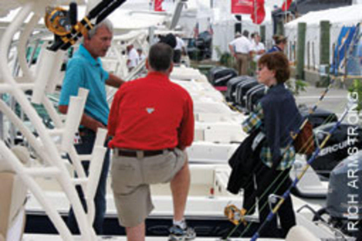 You should know the type of boat you're looking for and how you will use it before talking to salespeople.