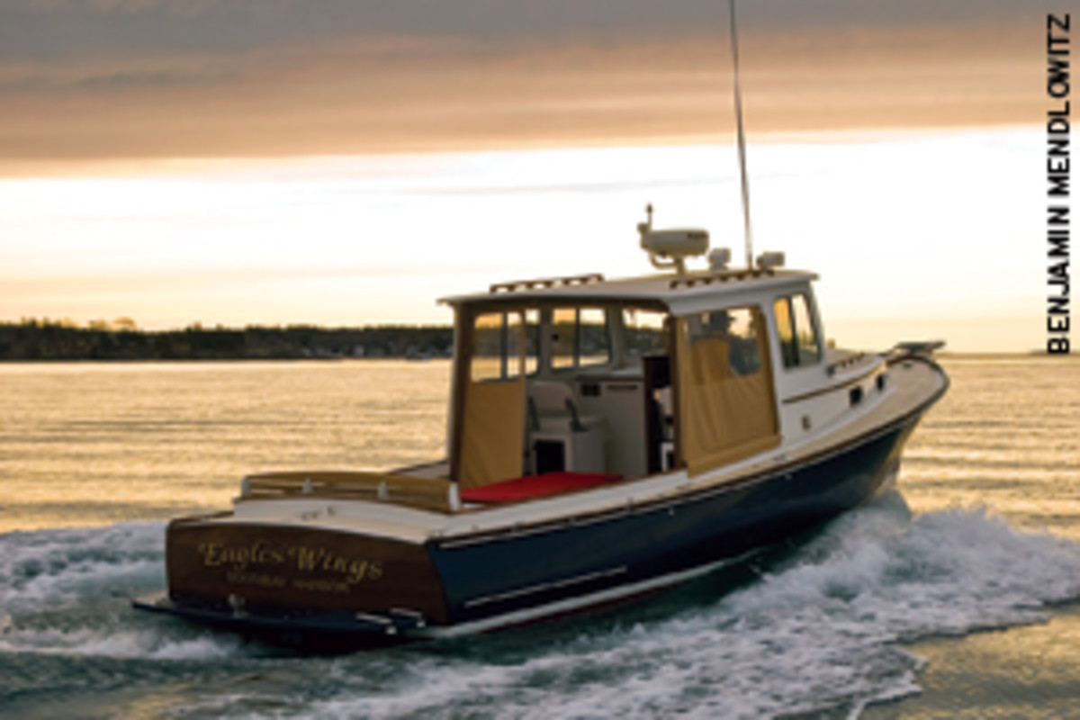 The goal is a seaworthy, comfortable boat. Shown here is the Southport 30 by Southport Island Marine.