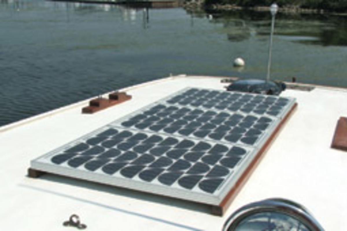 Whate Cap's solar panels