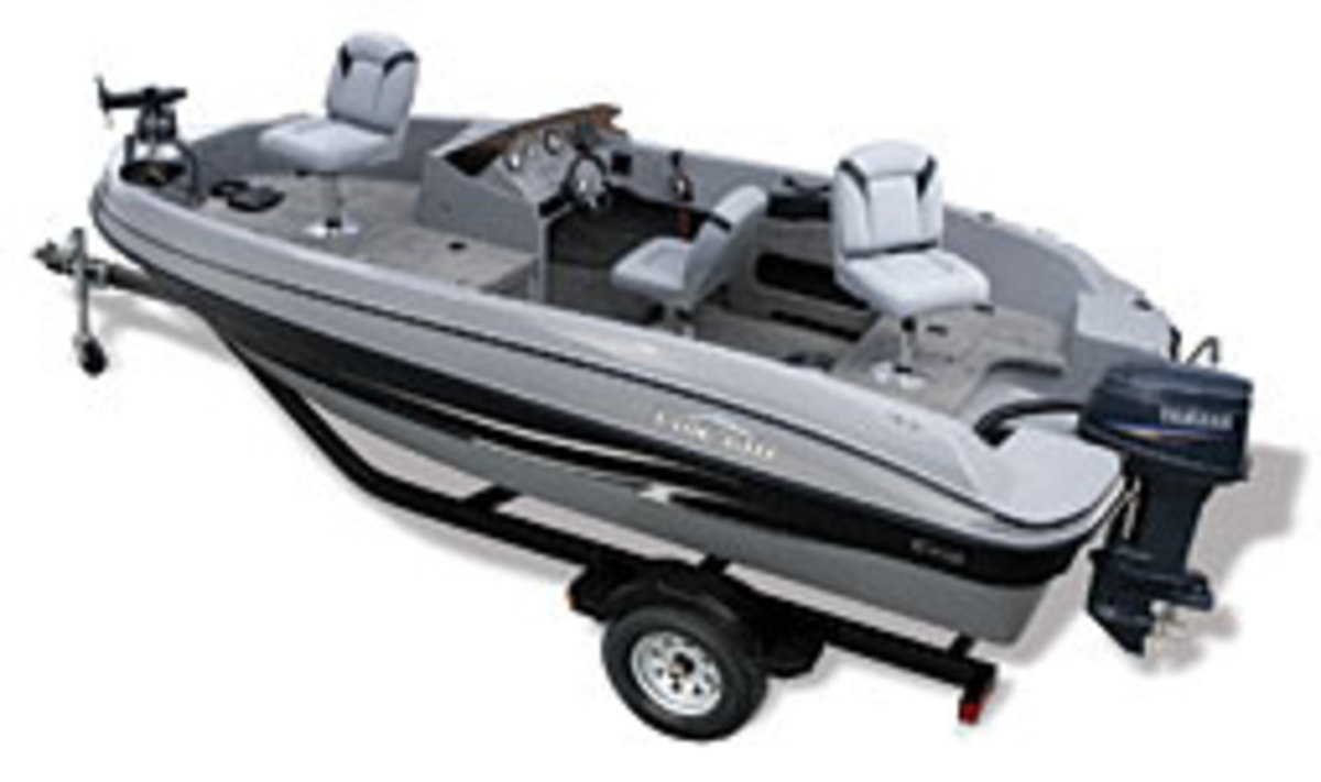 The new 17-foot FinCraft will retail for $13,995, including a trailer, outboard and depth finder.