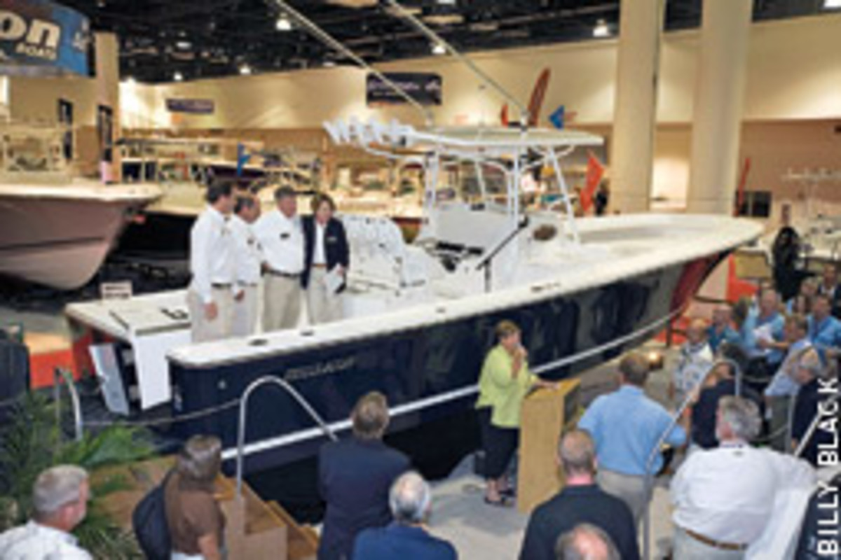 Regulator Marine unveiled its largest center console yet - the 34 SS.