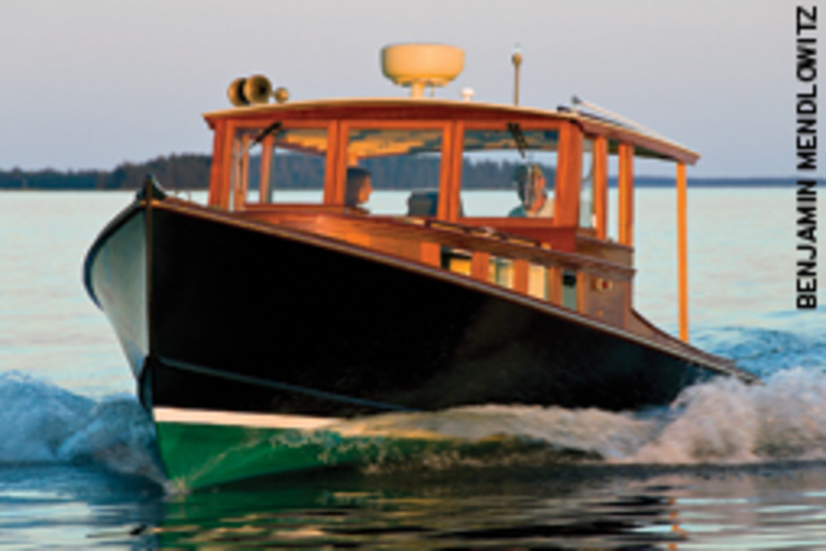 The skipper needs to know the limitations of vessel and crew. Shown here is Posthaste IV, a 34-footer by D.N. Hylan & Associates in Brooklin, Maine.