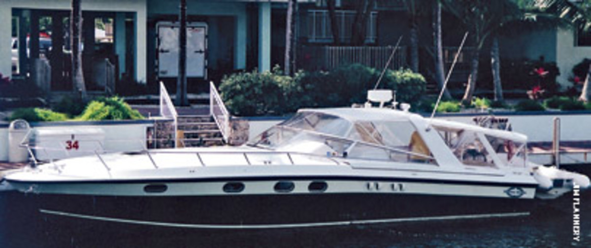 The Dethiers' Magnum 40 Sport Cruiser was twice mistaken for the wrong boat by National Marine Liquidators.
