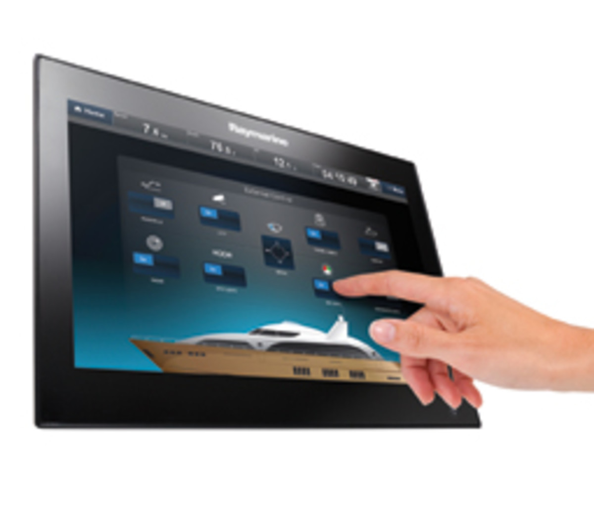 Raymarine recently debuted its digital switching system; it uses EmpirBus components.