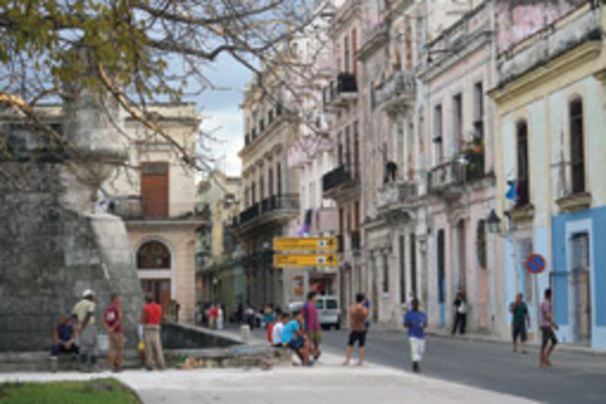 Old Havana's often-dilapidated colonial architecture is some of the most beautiful in the Caribbean.