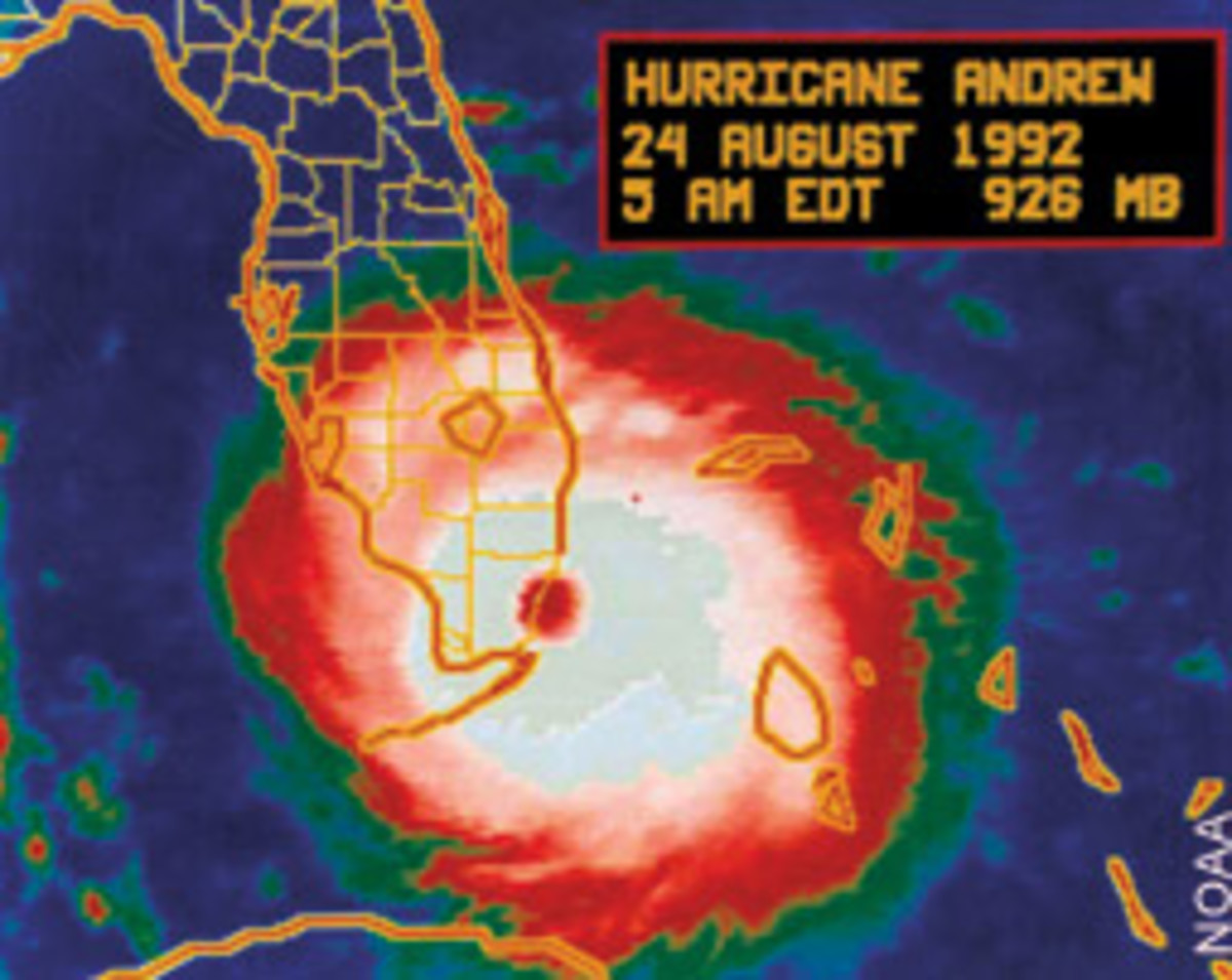 Andrew smashed into Florida more like a mammoth, ferocious tornado than a hurricane.