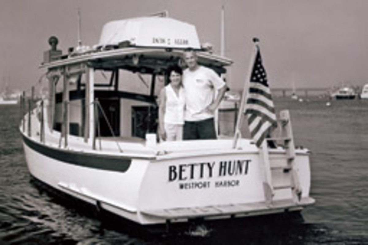 John and Susan Snyder say if they don't find the right new owner for Betty Hunt they'll just keep cruising her.