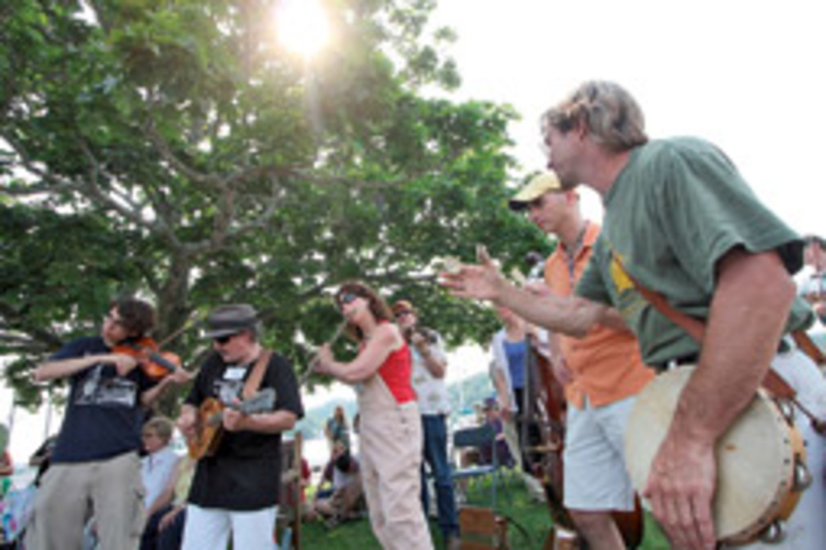 The Mystic Seaport will once again showcase the traditional music of the sea.