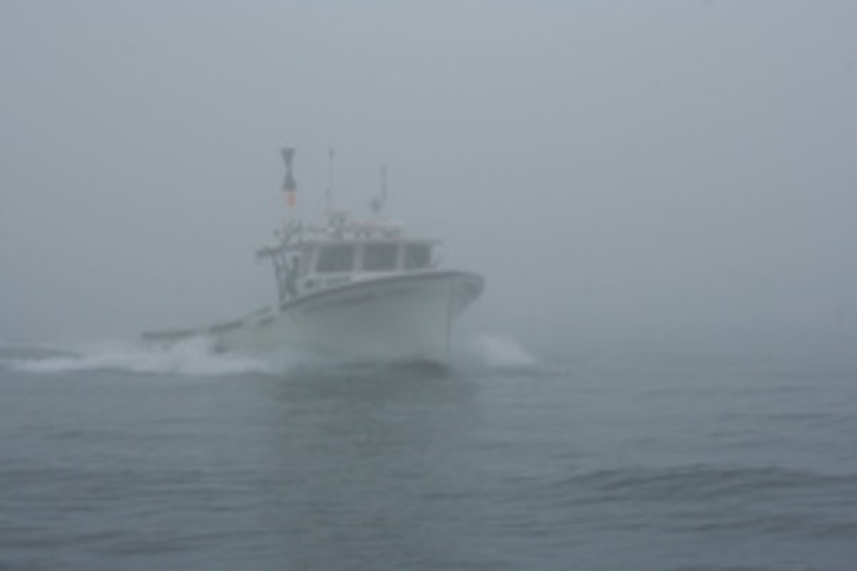 Fog requires a high level of situational awareness by skipper and crew.