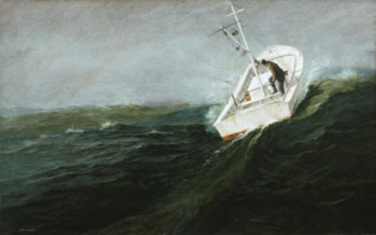 Alkyd painting by Robert Dance