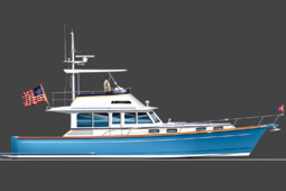 The York 46 will have twin waterjet power.