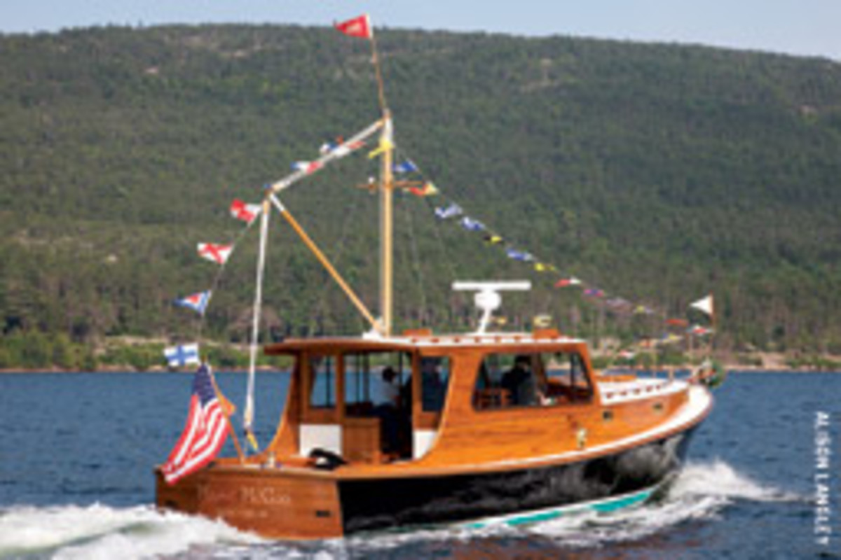 Masie McGoo, a Stanley 38 from John Williams Boat Company, was launched recently in Maine.