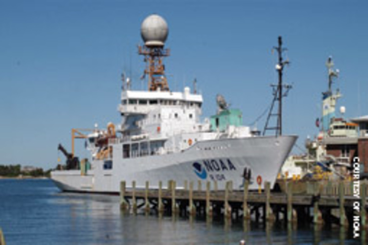 The Ronald H. Brown is NOAA's largest ship.
