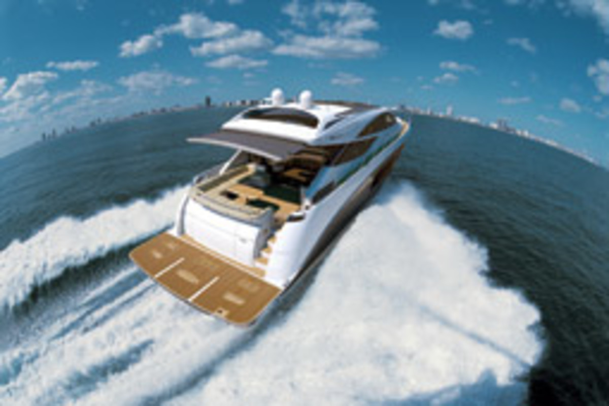 Sea Ray 'reinvented' its concept of a yacht with the new L-Class.