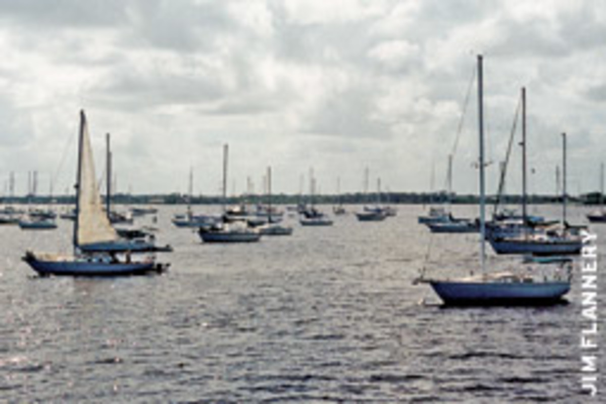 A new law specifically forbids counties and municipalities from trying to restrict cruisers from anchoring outside permitted mooring fields.