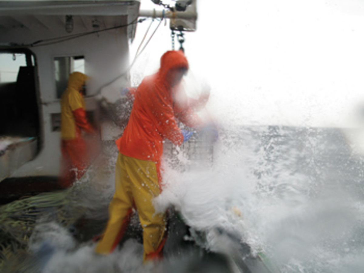 The chief yield of experience running or working in big seas and gale-force winds is profound and lasting humility.