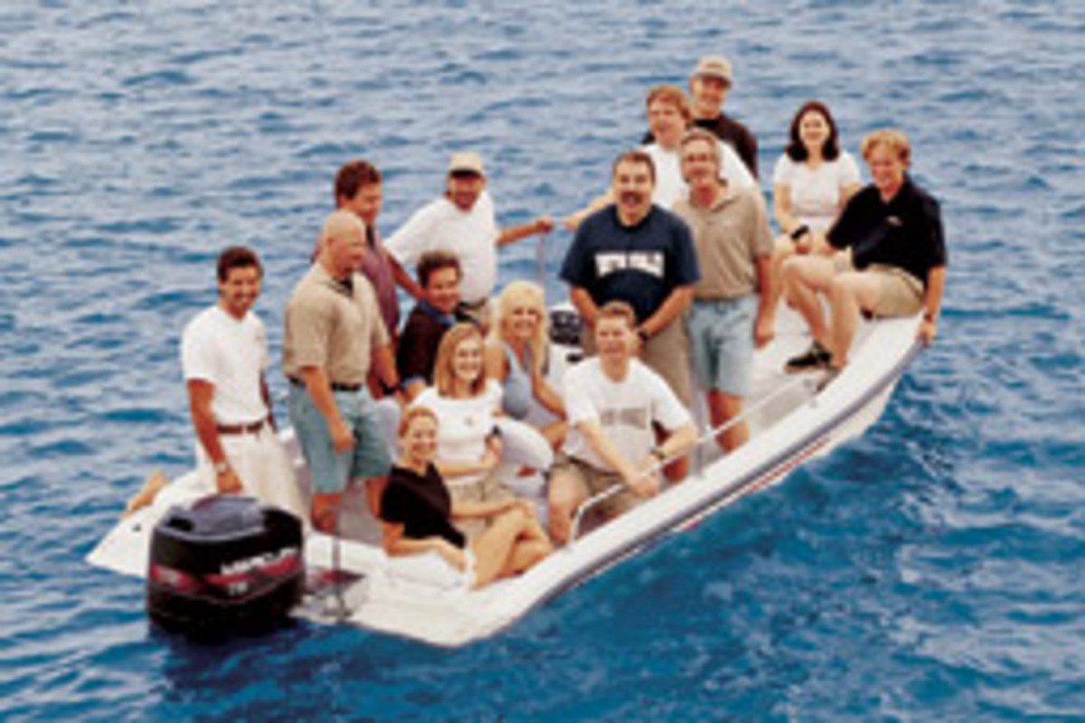 Boston Whaler Demonstrates The Unsinkability Of Its Boats