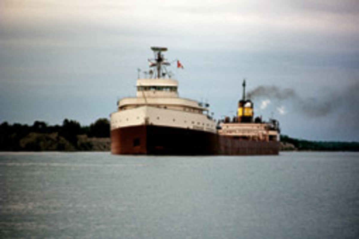 The Edmund Fitzgerald is perhaps the best-known casualty of a November gale on the Great Lakes. The 729-foot ore carrier sank Nov. 10, 1975, on Lake Superior.