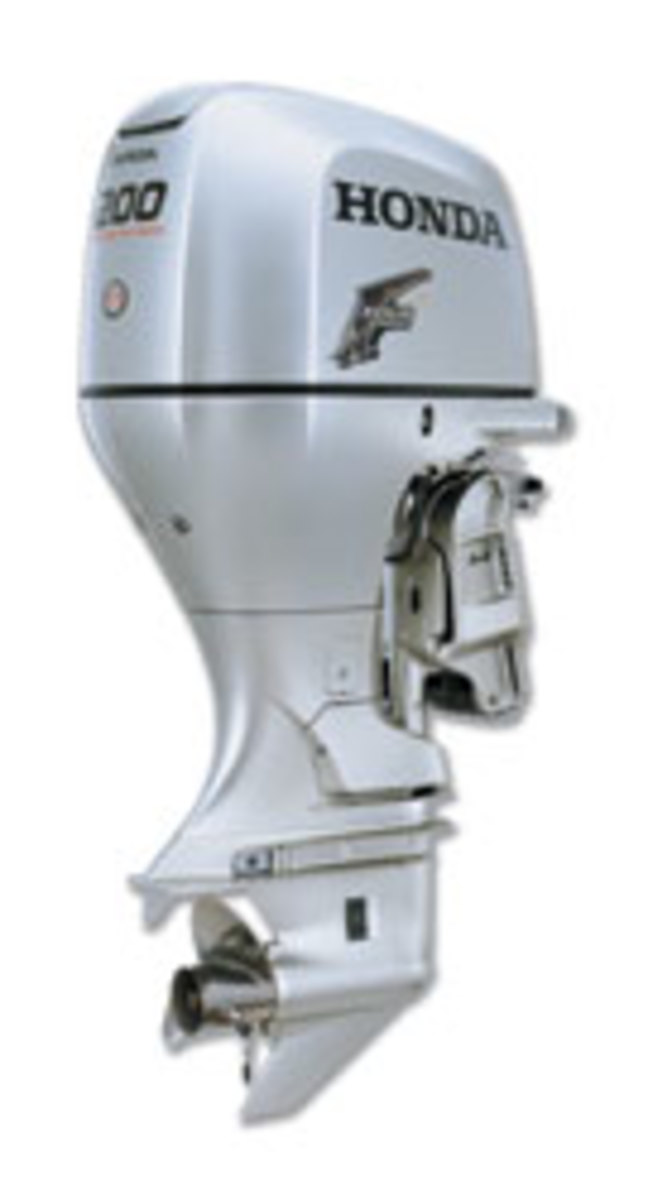 During the spring 2009 boat show season, customers could take home a Honda outboard at 4.99-percent financing rates.