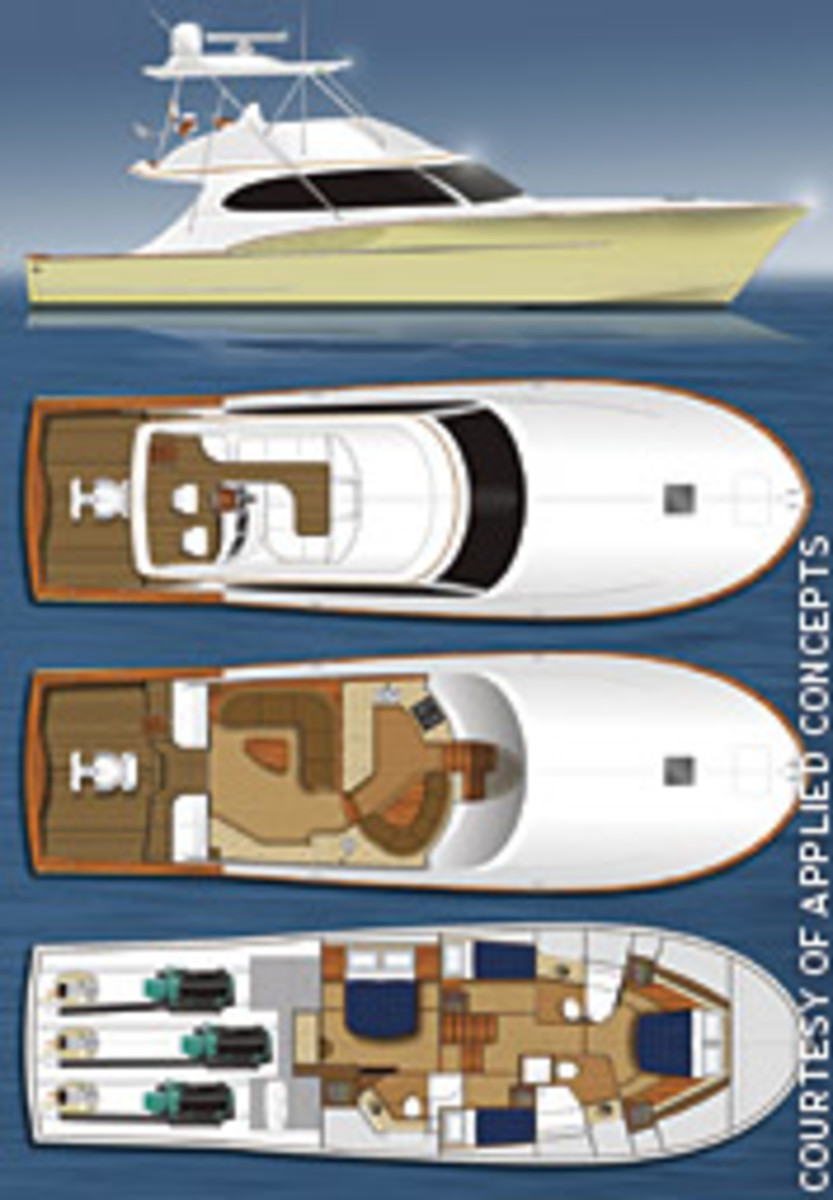Freedom Boat Works is incorporating Volvo's IPS 2 into its 56-foot sportfisherman - the company's first boat.