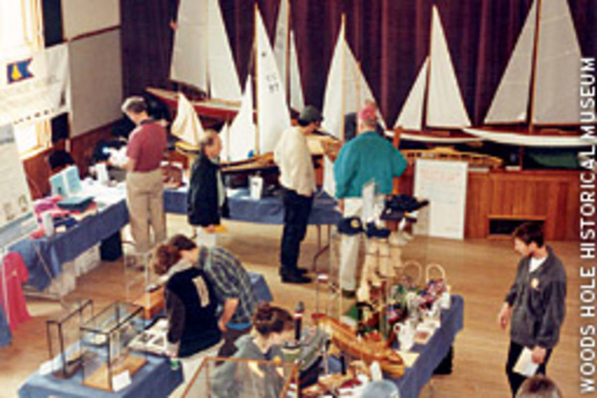 Model boat fans can view displays or get a little more hands-on at the Woods Hole (Mass.) Model Boat Show April 18 and 19.