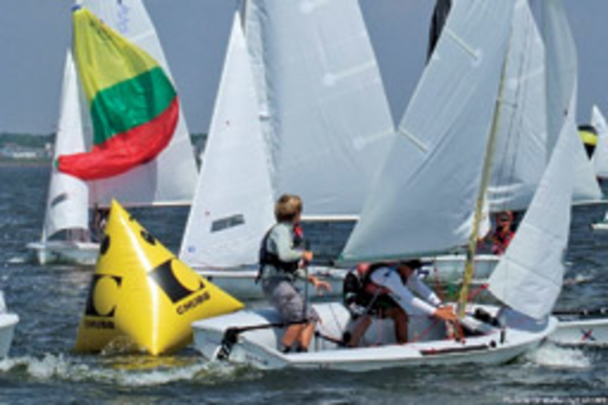 U.S. Sailing's Chubb United States Junior Championships is a nationwide elimination series that concludes Aug. 13 in Marblehead, Mass.