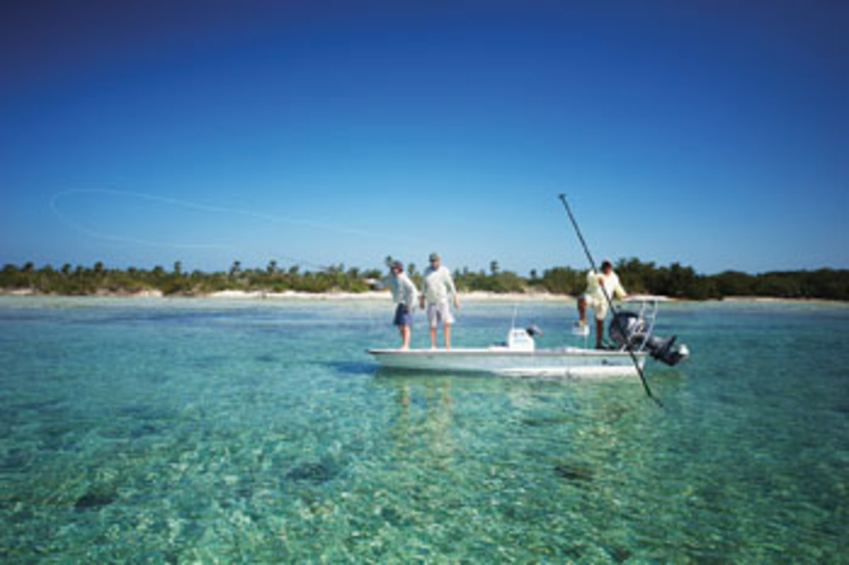 Anglers will want to fish Cuba's pristine inshore waters.