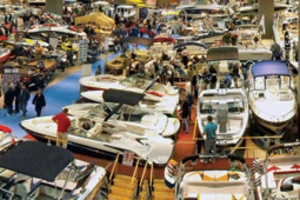 Buyers were looking for deals and exhibitors were looking for good news at this year's Hartford Boat and Fishing Show