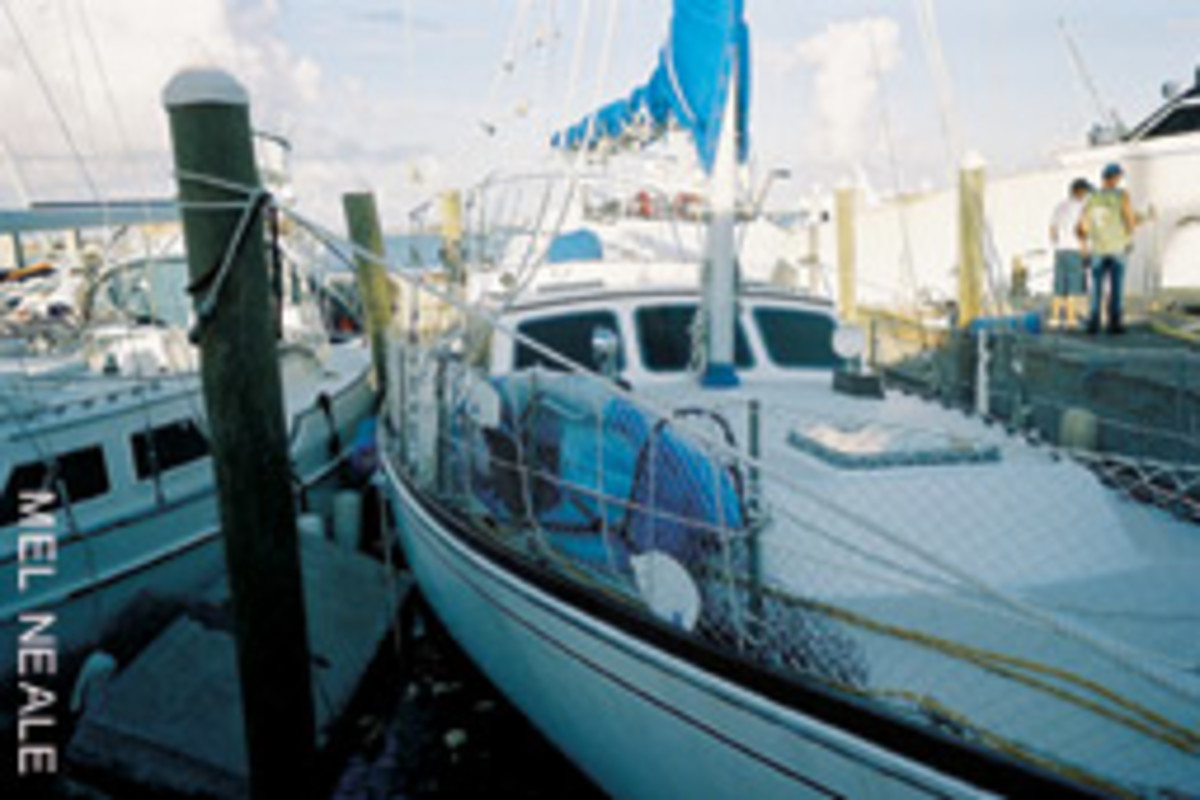 The Neales cruised thousands of miles aboard their previous boat, but she met her fate during Hurricane Jeanne.