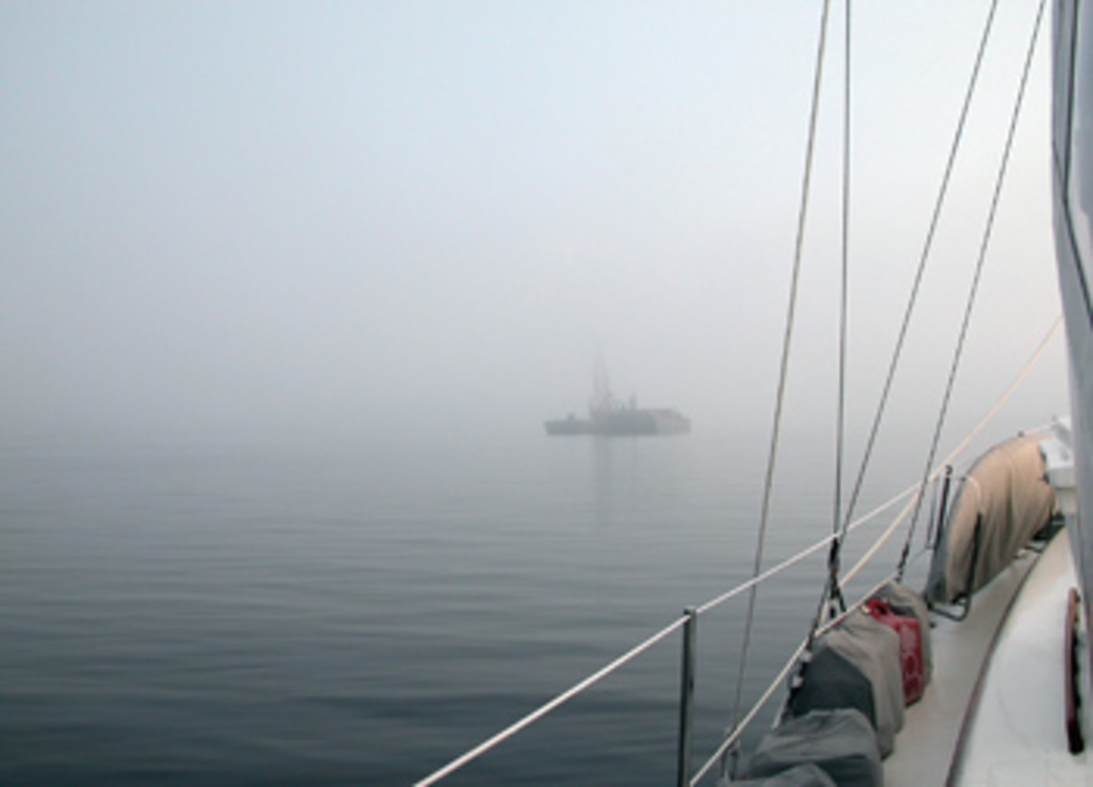 The sudden onset of fog, and the potential hazards it brings, can change the parameters of a float plan instantly.