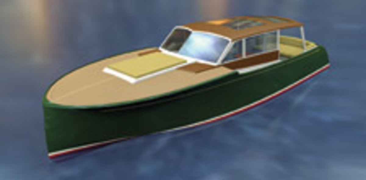Citronella is a classic cruiser powered by Volvo Penta IPS and pod drives.