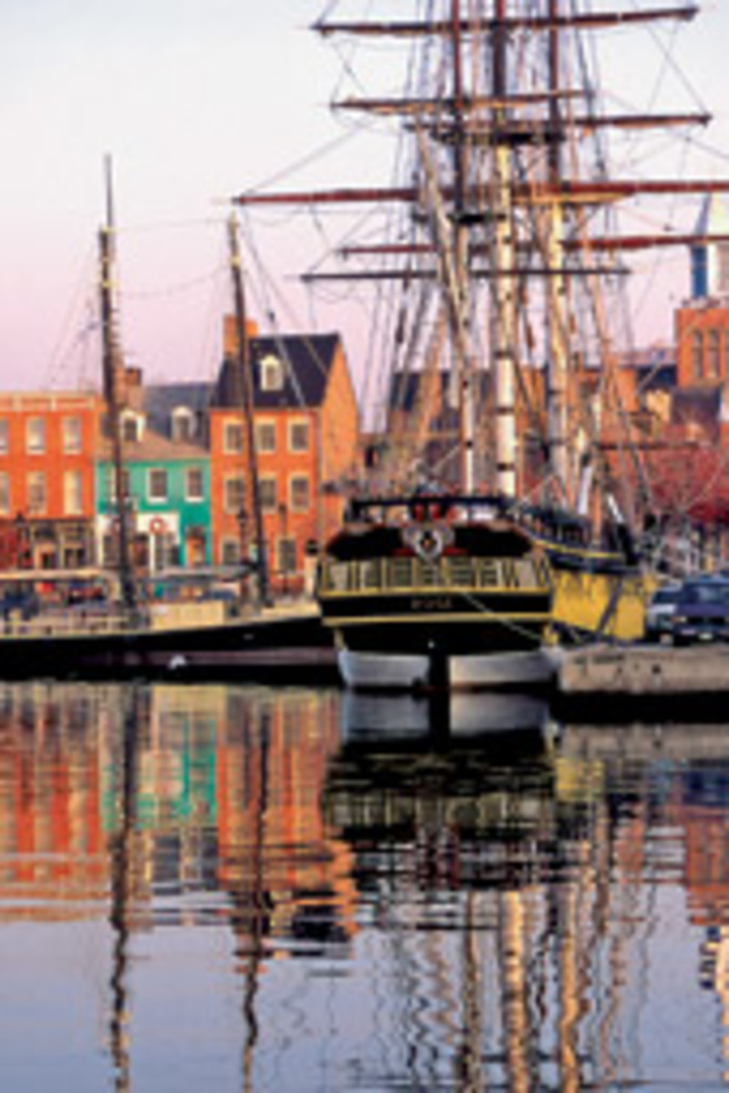 The British originally targeted Fells Point in Baltimore as a 'nest of pirates.' Now it's a place to catch a water taxi to visit Fort McHenry.